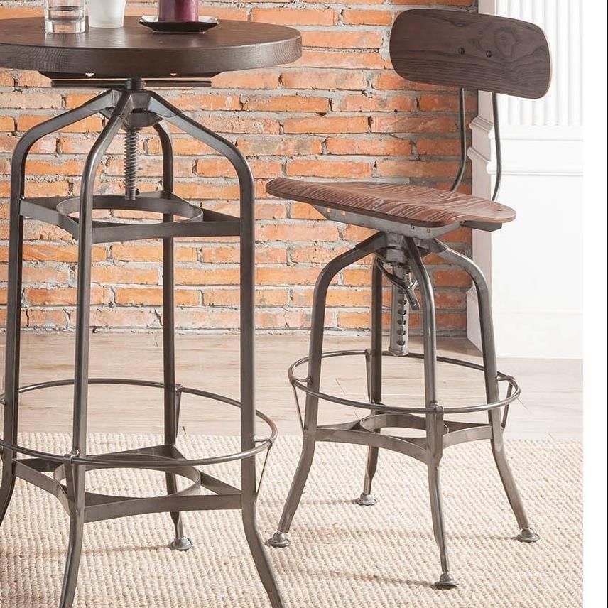 Kaeso Adjustable Stool  by Acme Furniture at Carolina Direct