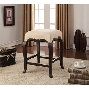 Transitional Counter-Height Stool