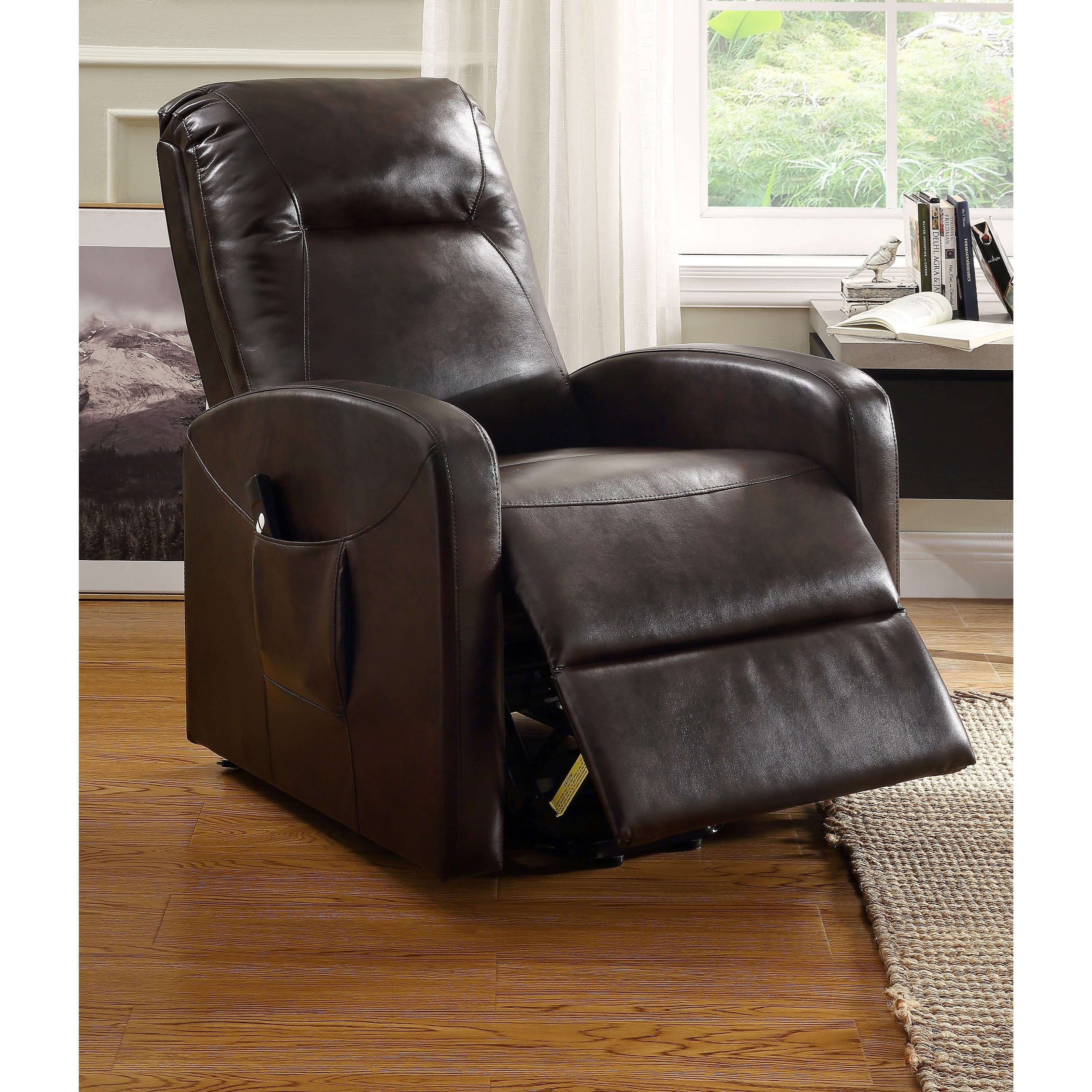 Kasia Recliner with Power Lift by Acme Furniture at Dream Home Interiors