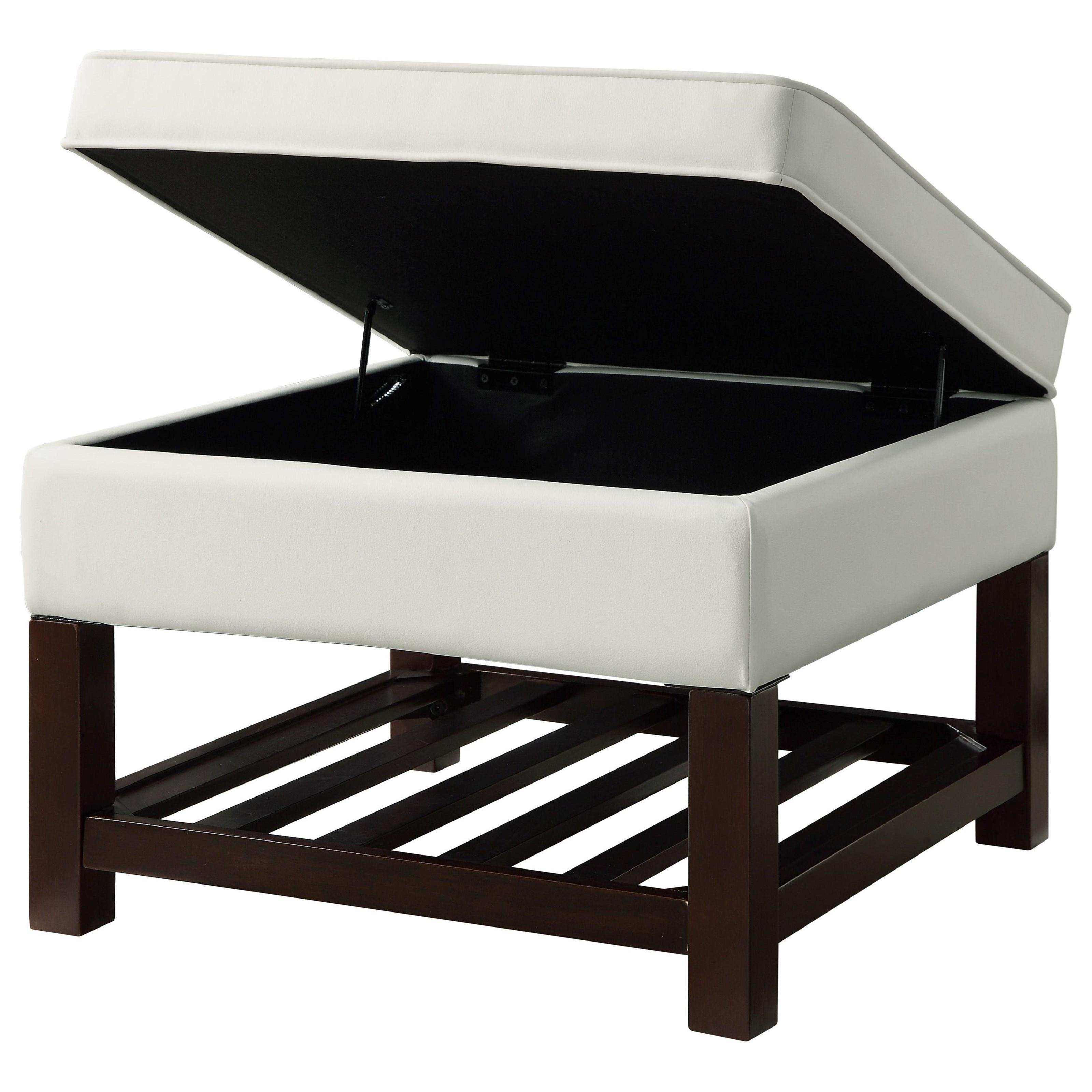 Keiko Cocktail Table w/Storage by Acme Furniture at Carolina Direct