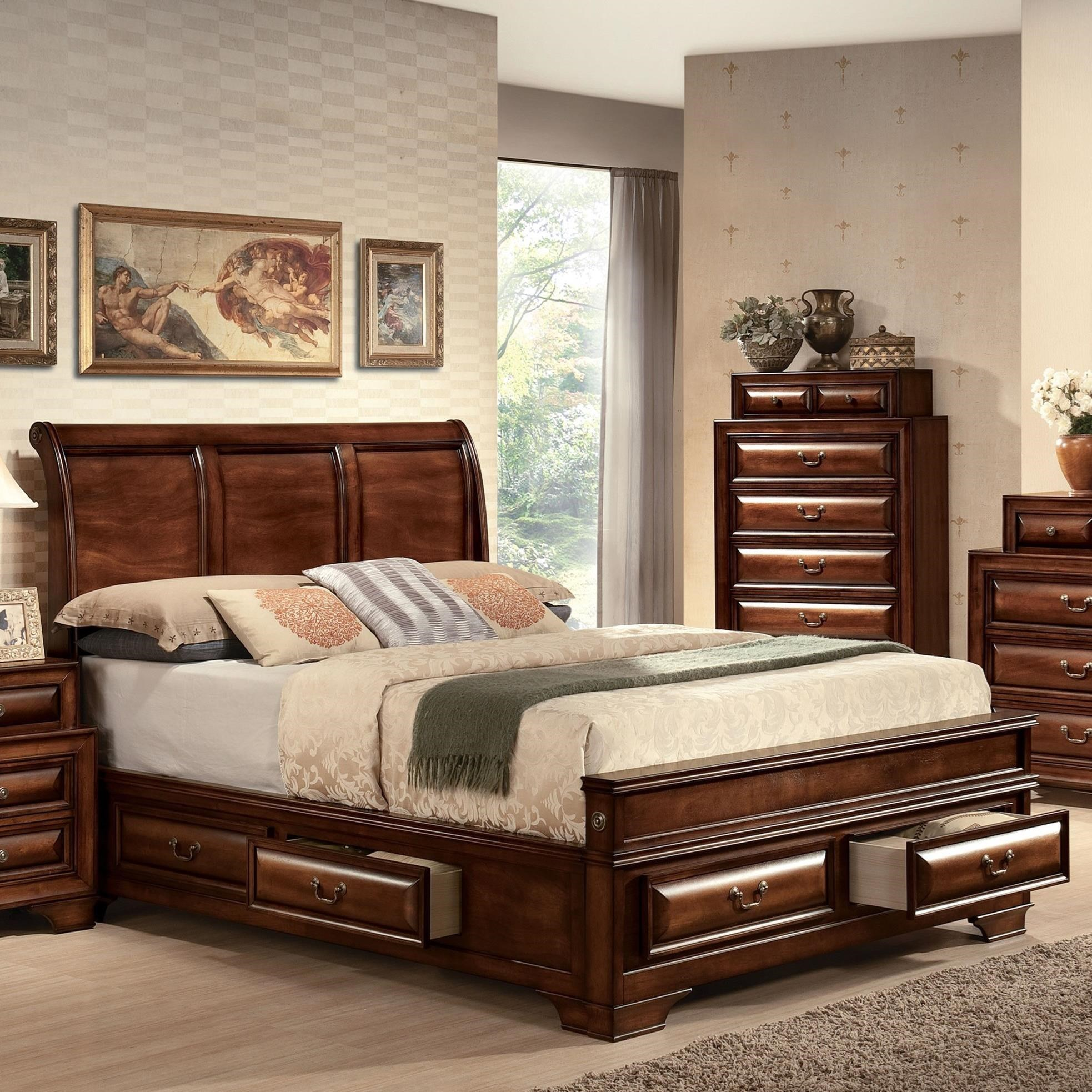 Konane Queen Bed by Acme Furniture at Dream Home Interiors