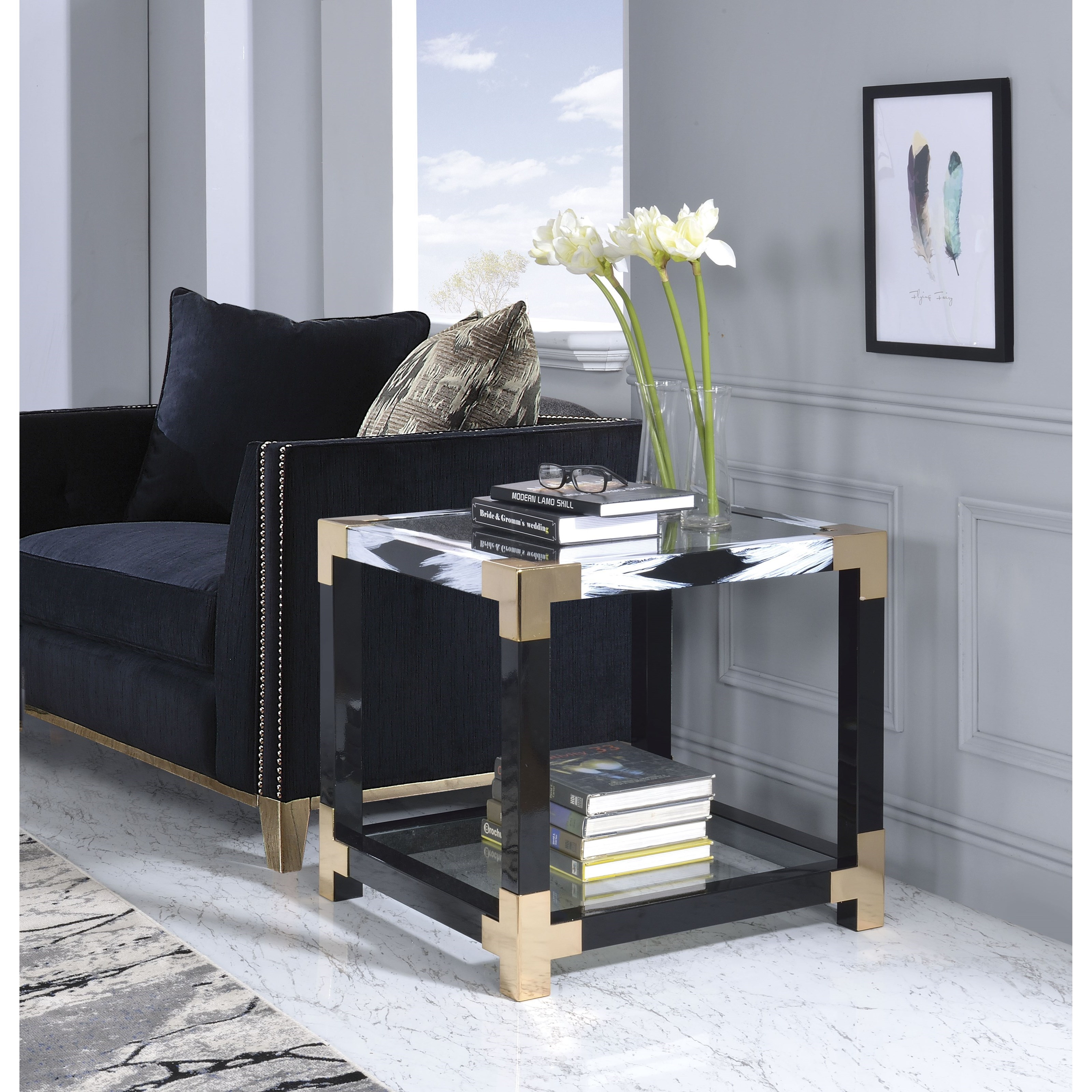 Lafty End Table by Acme Furniture at Carolina Direct