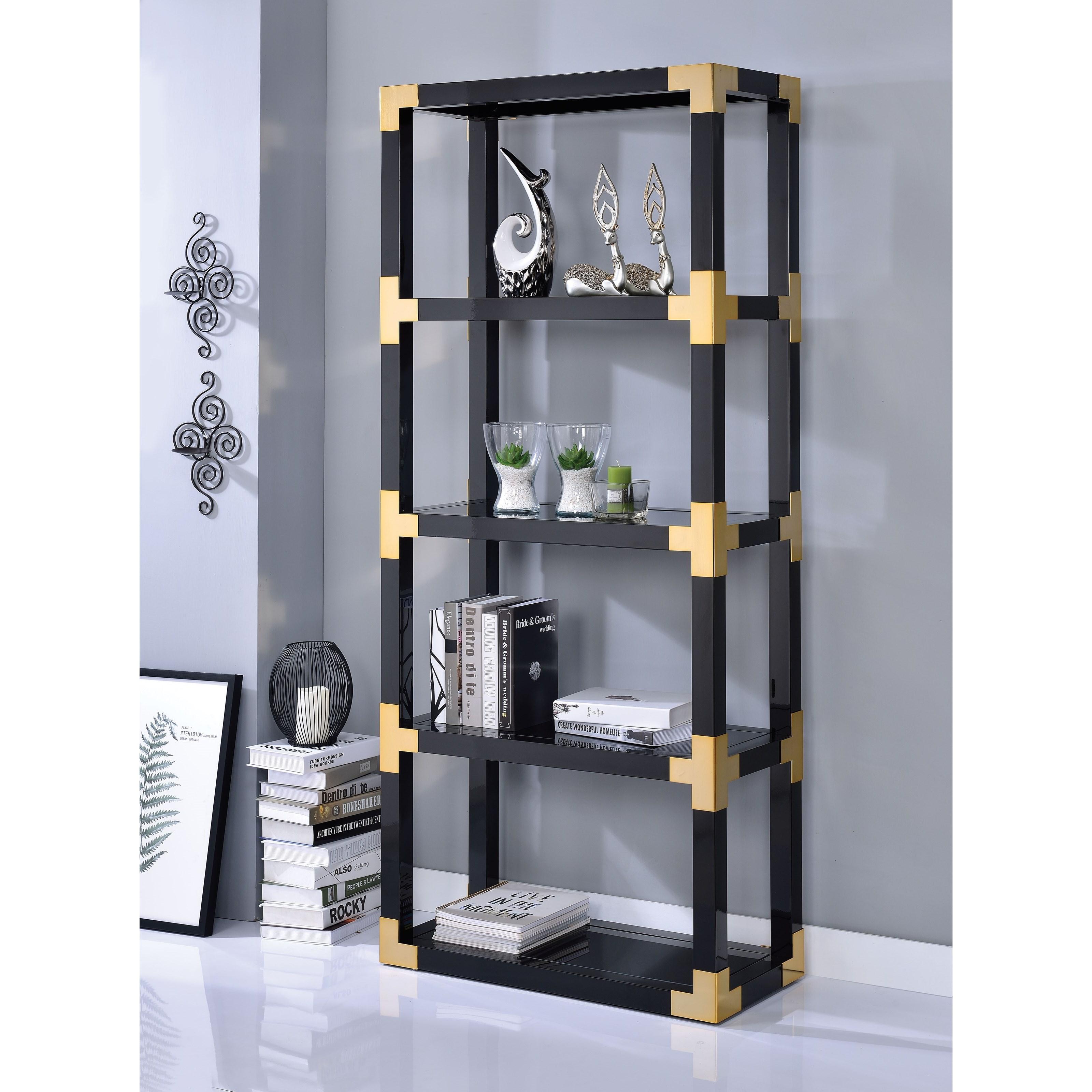 Lafty Bookshelf by Acme Furniture at A1 Furniture & Mattress