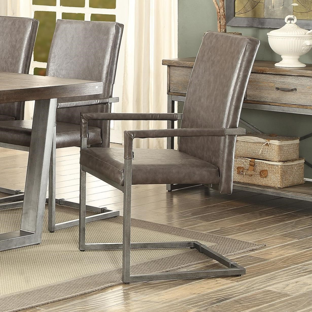Lazarus Arm Chair by Acme Furniture at Carolina Direct