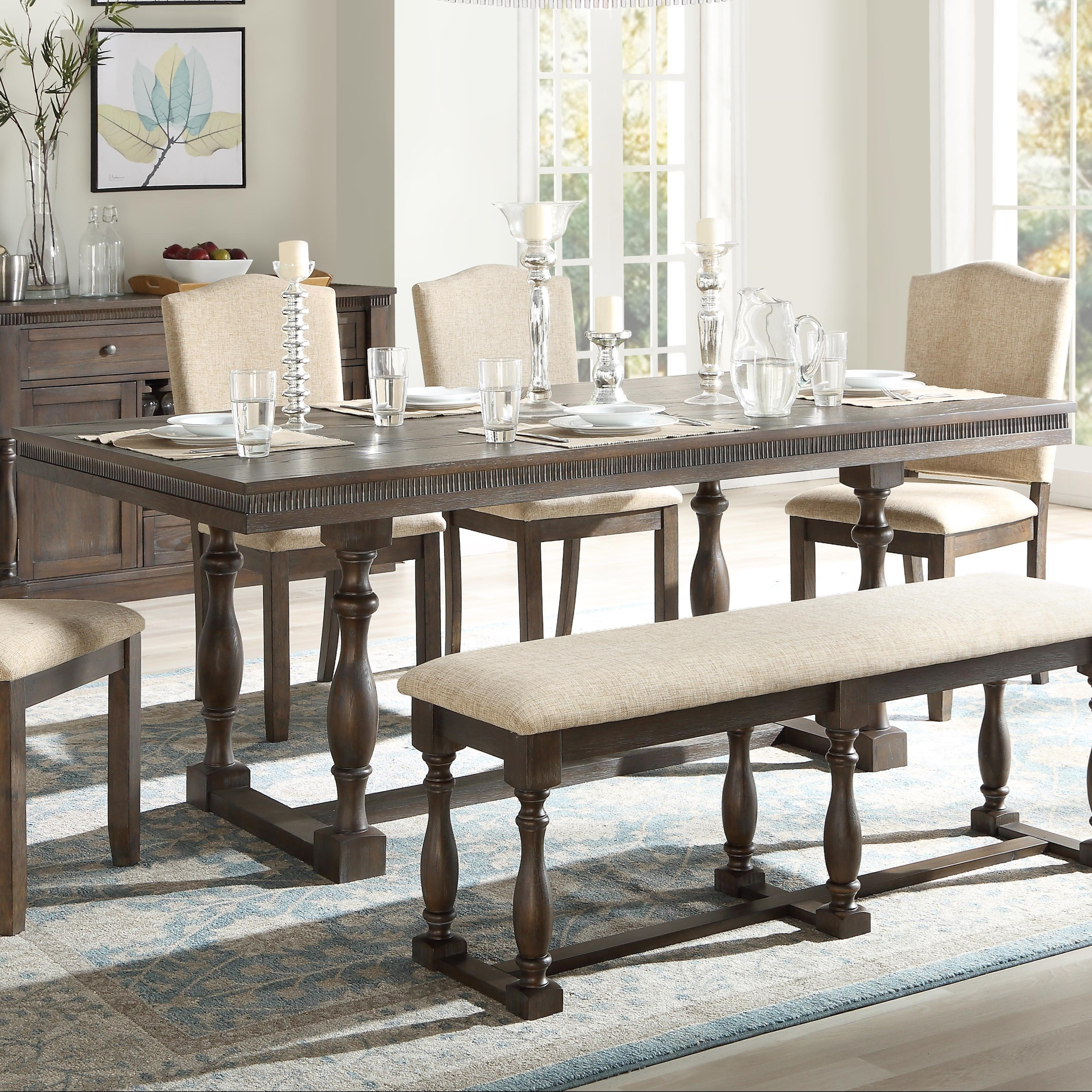 Leilani Dining Table by Acme Furniture at Carolina Direct