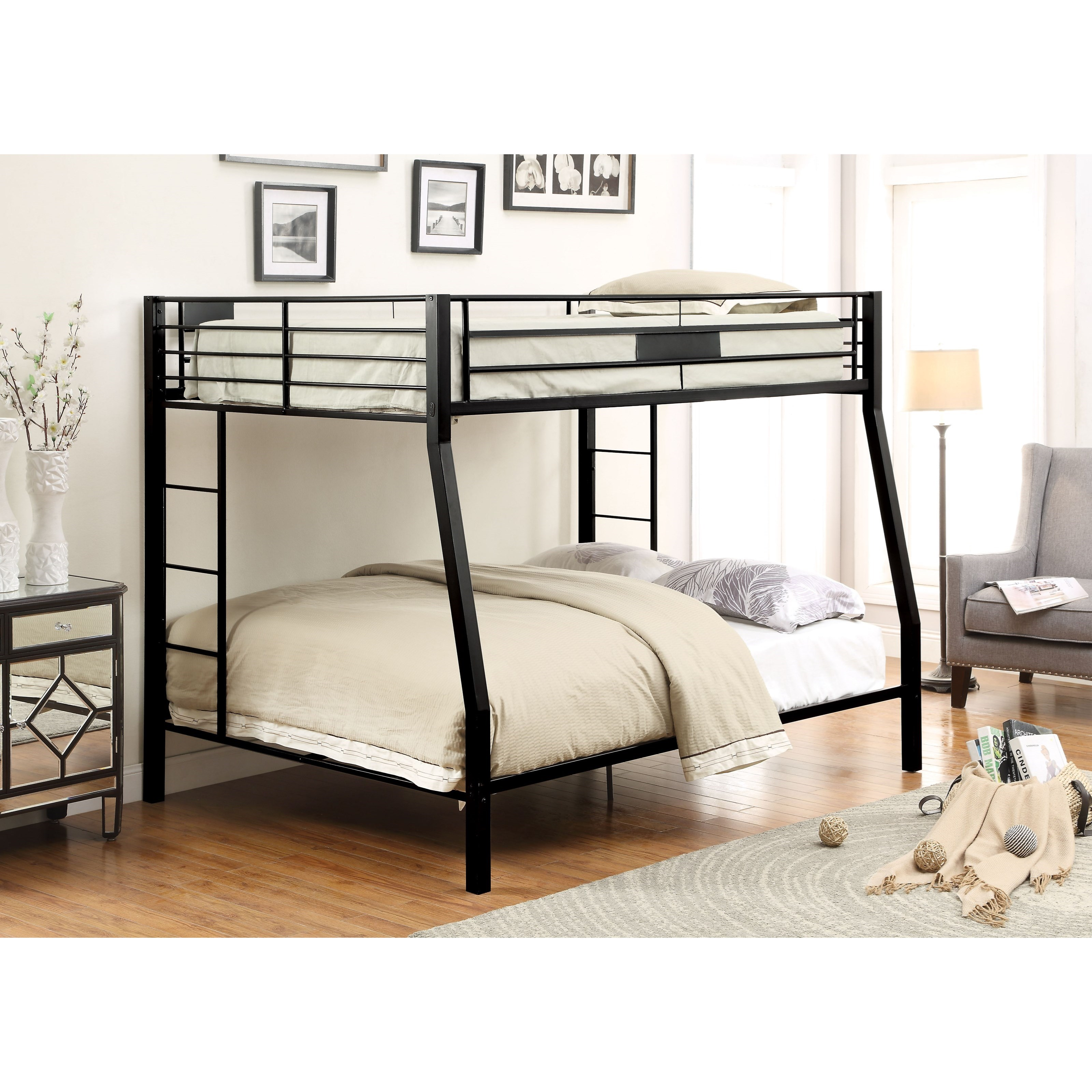 Limbra Full XL Over Queen Bunk Bed by Acme Furniture at Carolina Direct