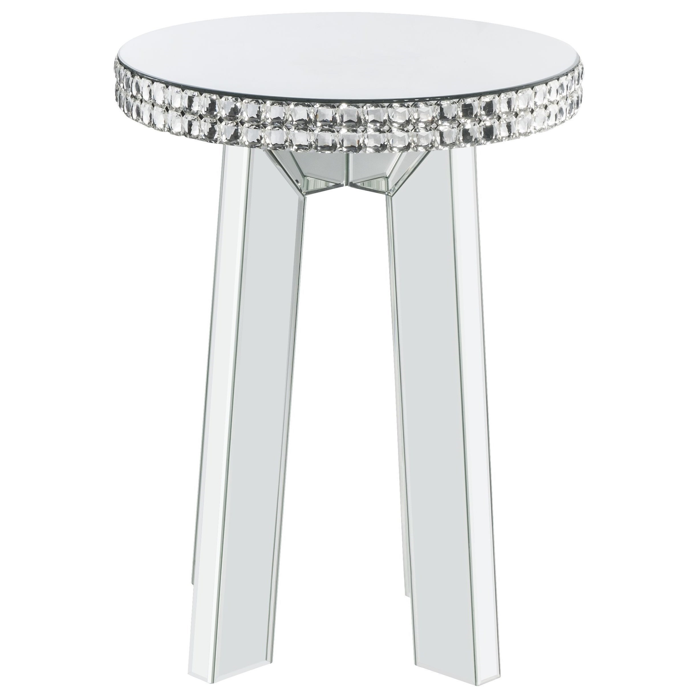 Lotus  End Table by Acme Furniture at Dream Home Interiors