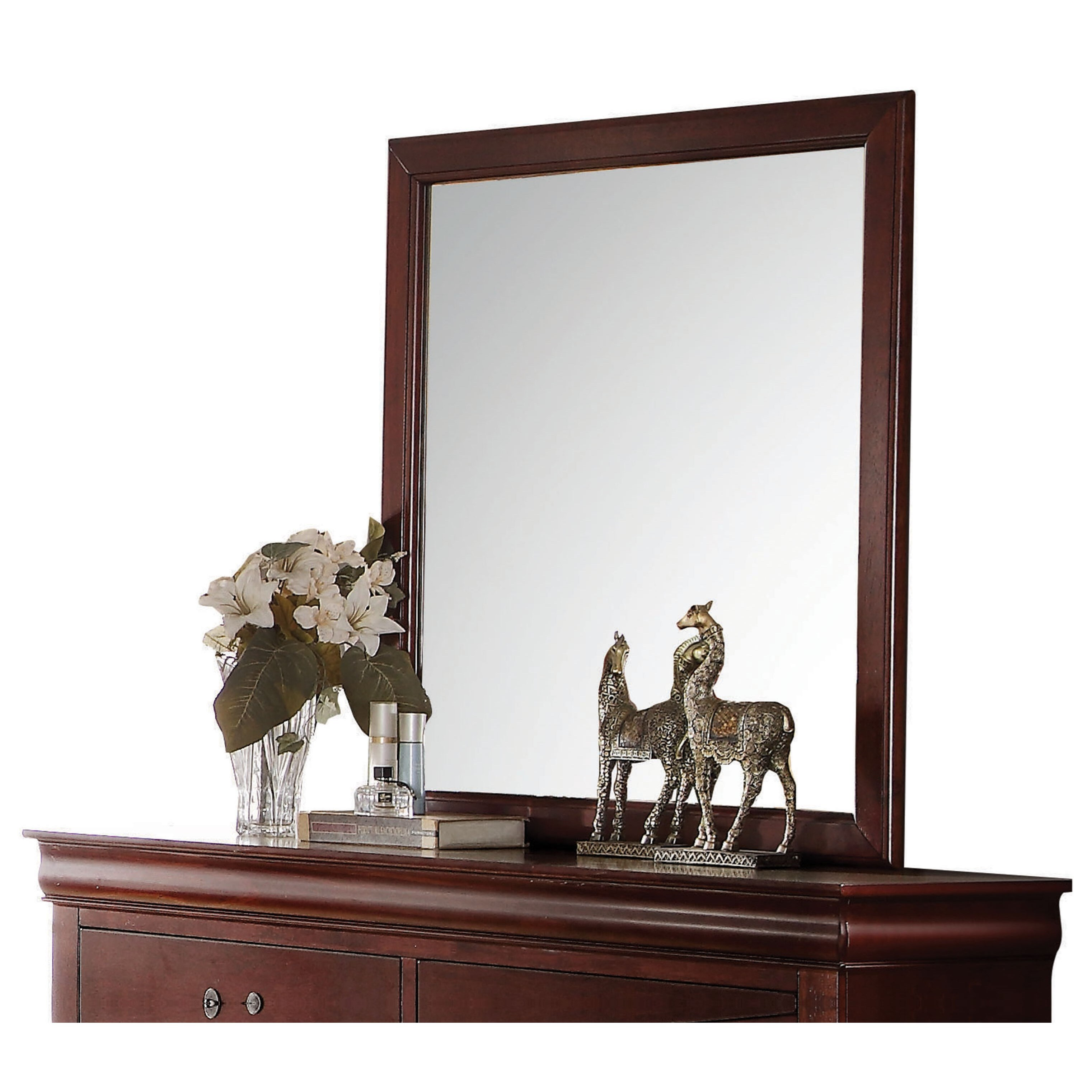 Louis Philippe  Mirror by Acme Furniture at A1 Furniture & Mattress