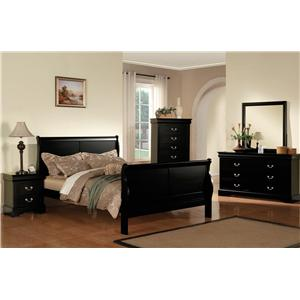Transtional Queen Bedroom Group