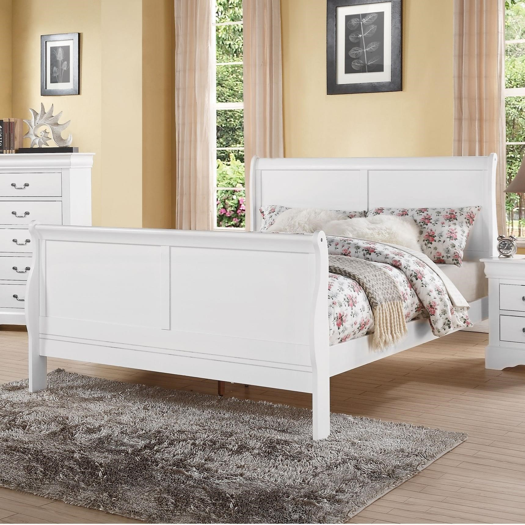Louis Philippe III Queen Bed by Acme Furniture at Carolina Direct