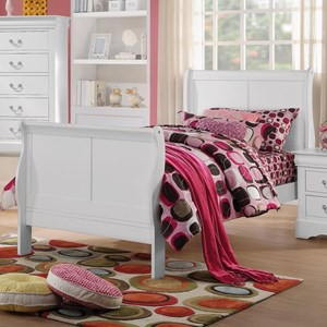 Full Transitional Sleigh Bed