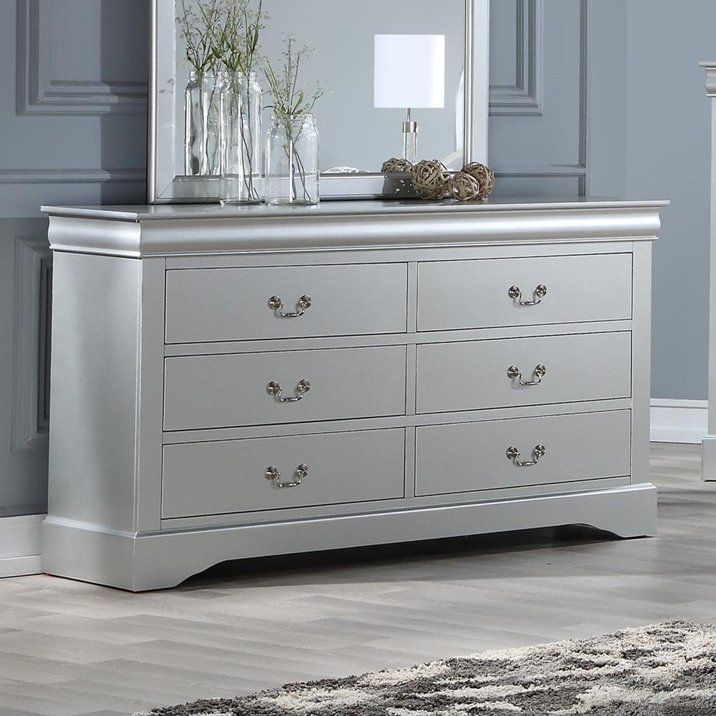 Louis Philippe III Dresser by Acme Furniture at Carolina Direct