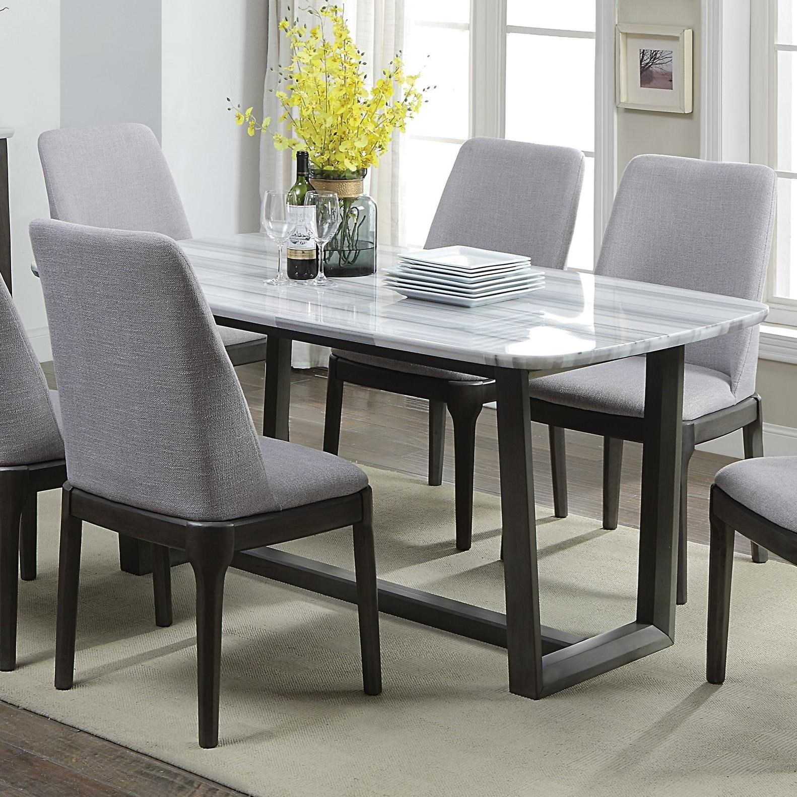 Madan Dining Table by Acme Furniture at A1 Furniture & Mattress