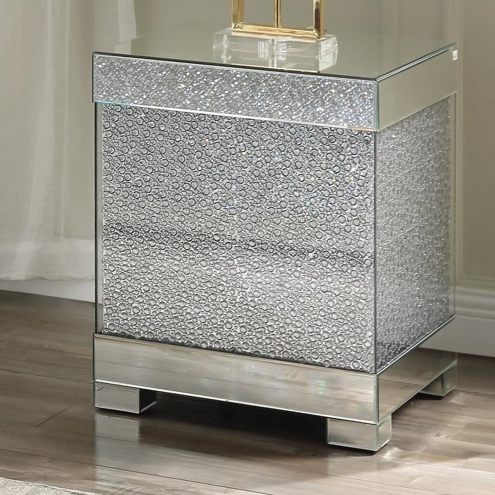 Mallika End Table by Acme Furniture at Del Sol Furniture