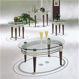 Contemporary 3-Piece Occasional Coffee and End Table Set