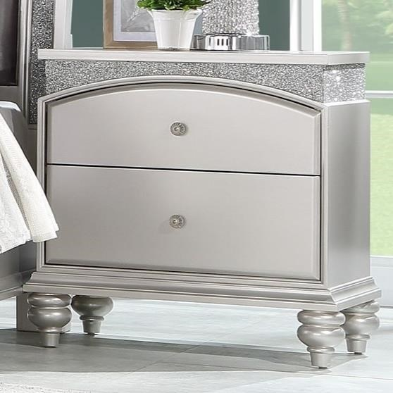 Maverick Nightstand by Acme Furniture at A1 Furniture & Mattress