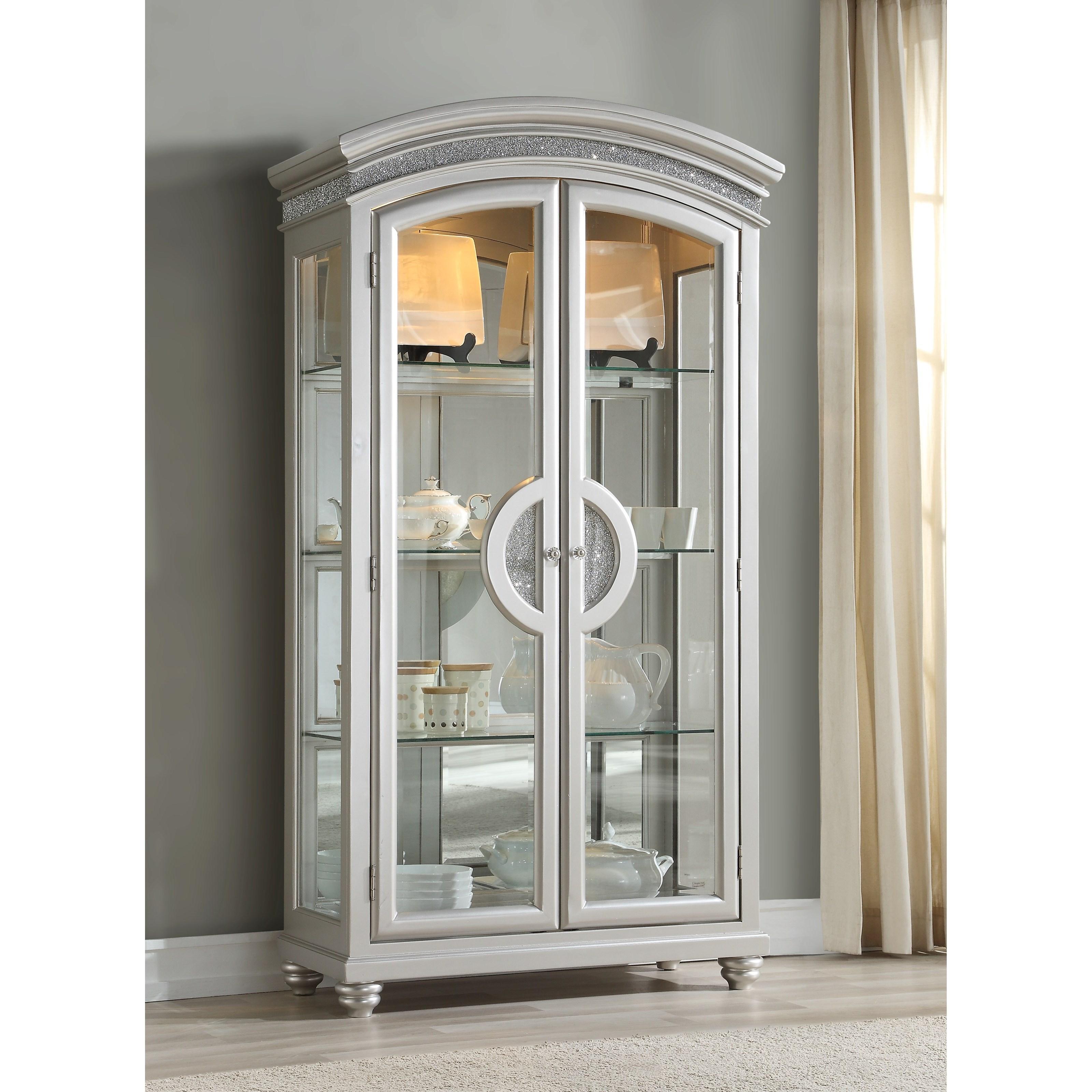 Maverick Curio Cabinet by Acme Furniture at A1 Furniture & Mattress
