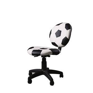 Sports Pattern Office Task Chair with Swivel Base