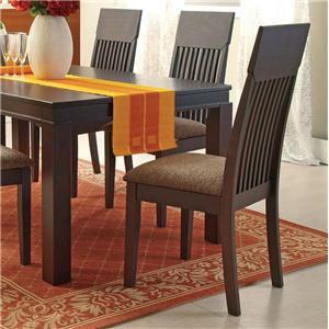Espresso Mission Dining Side Chair