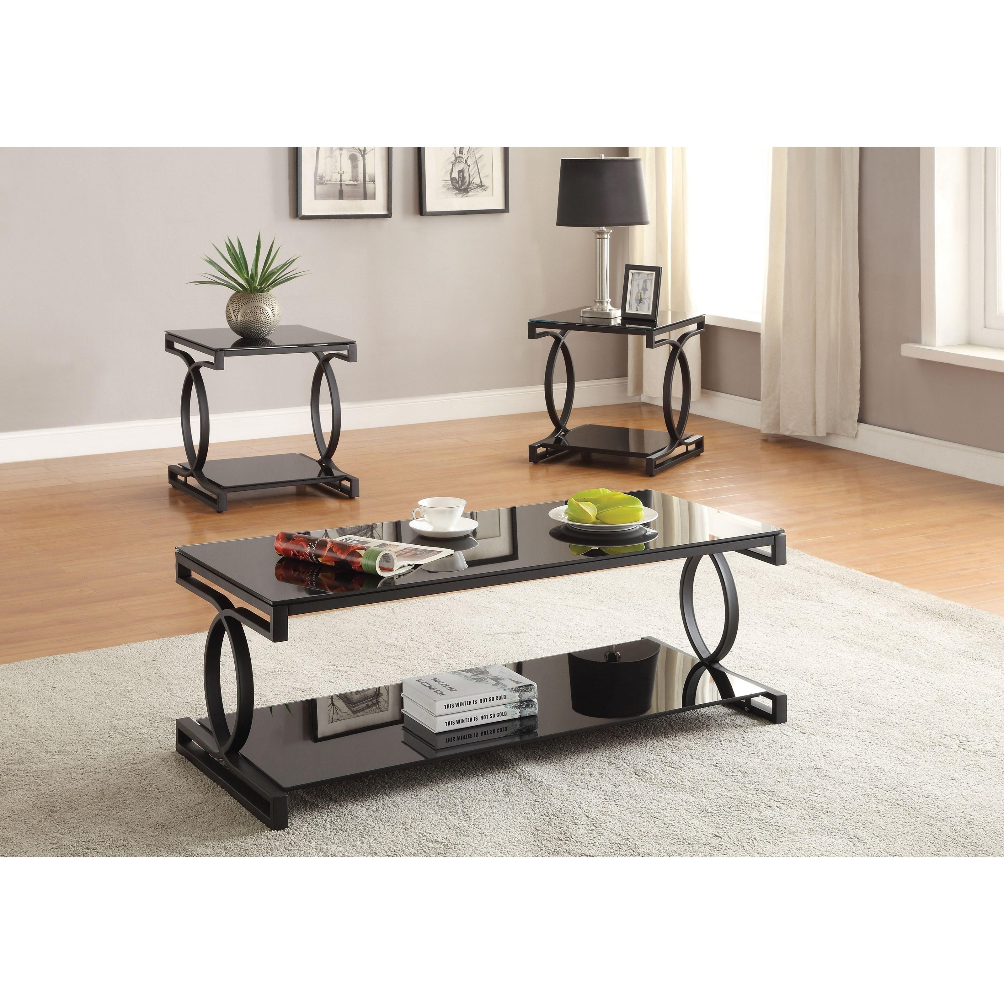 Milo Coffee/End Table Set (3Pc Pk) by Acme Furniture at Carolina Direct