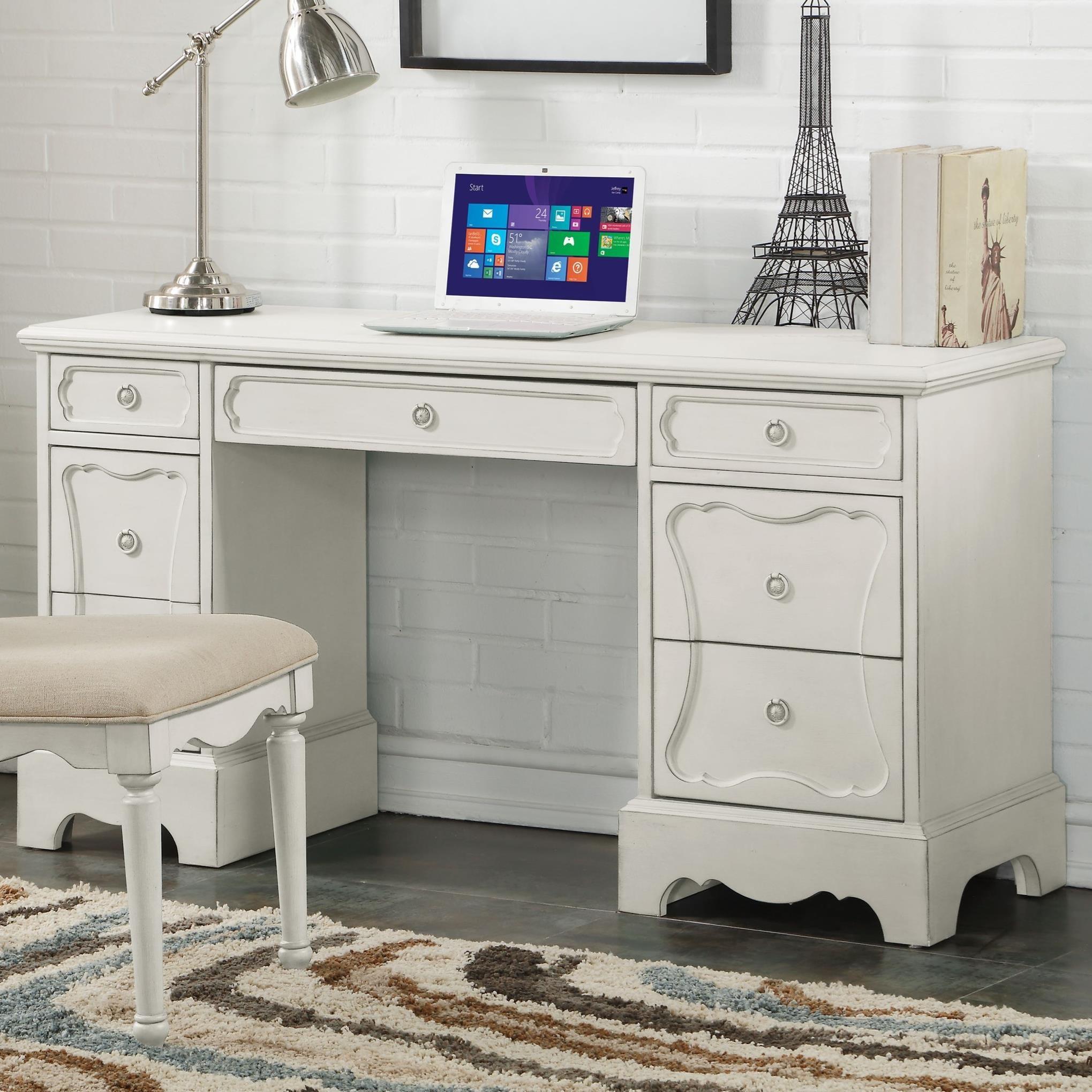 Morre Desk by Acme Furniture at Del Sol Furniture