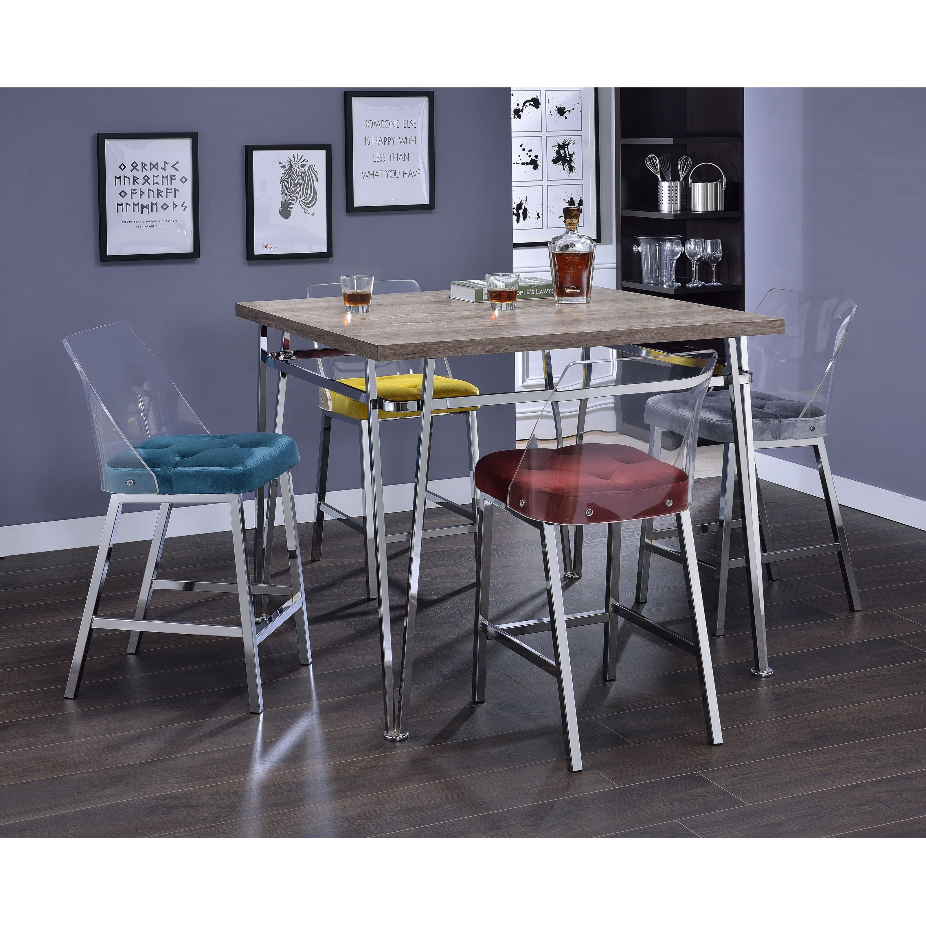 Nadie II Counter Height Table by Acme Furniture at Carolina Direct