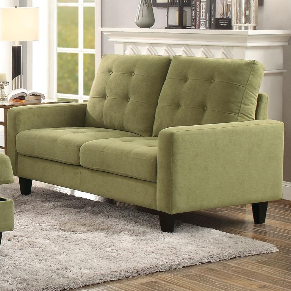 Nate Loveseat by Acme Furniture at Carolina Direct