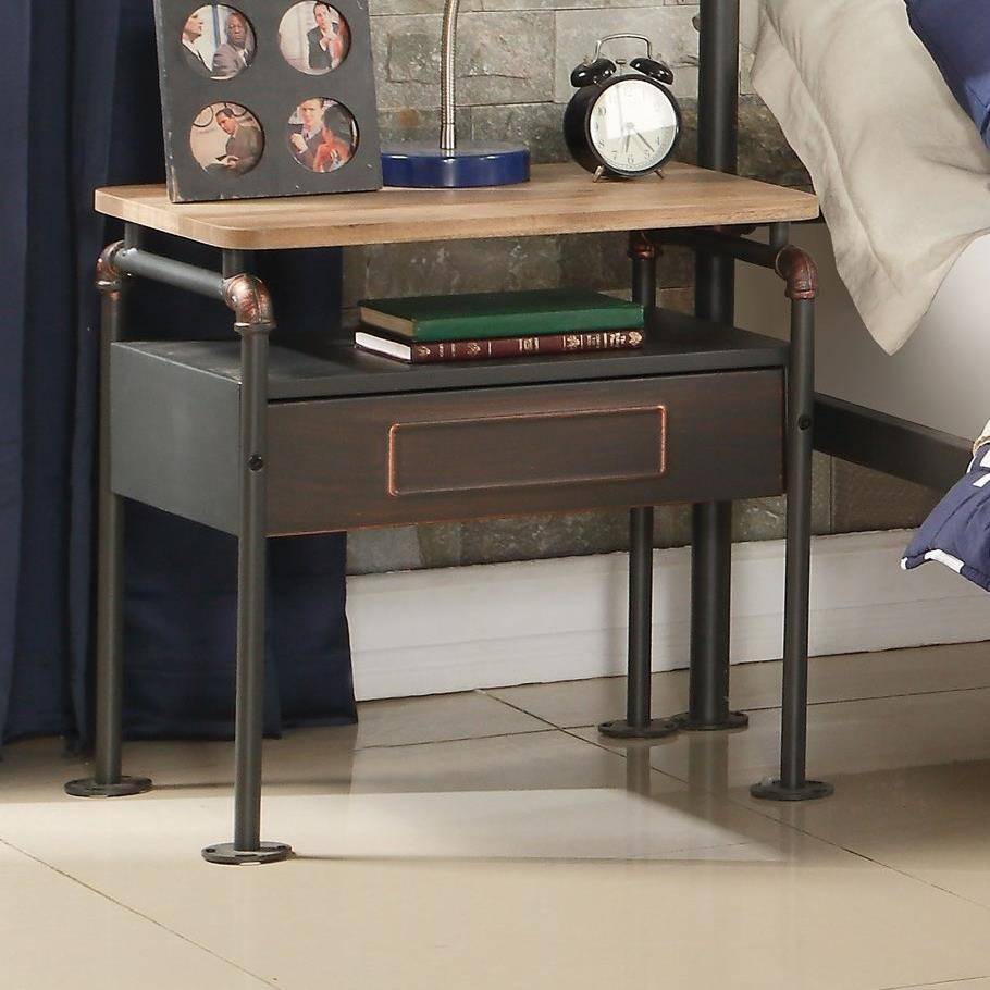 Nicipolis Nightstand by Acme Furniture at Carolina Direct