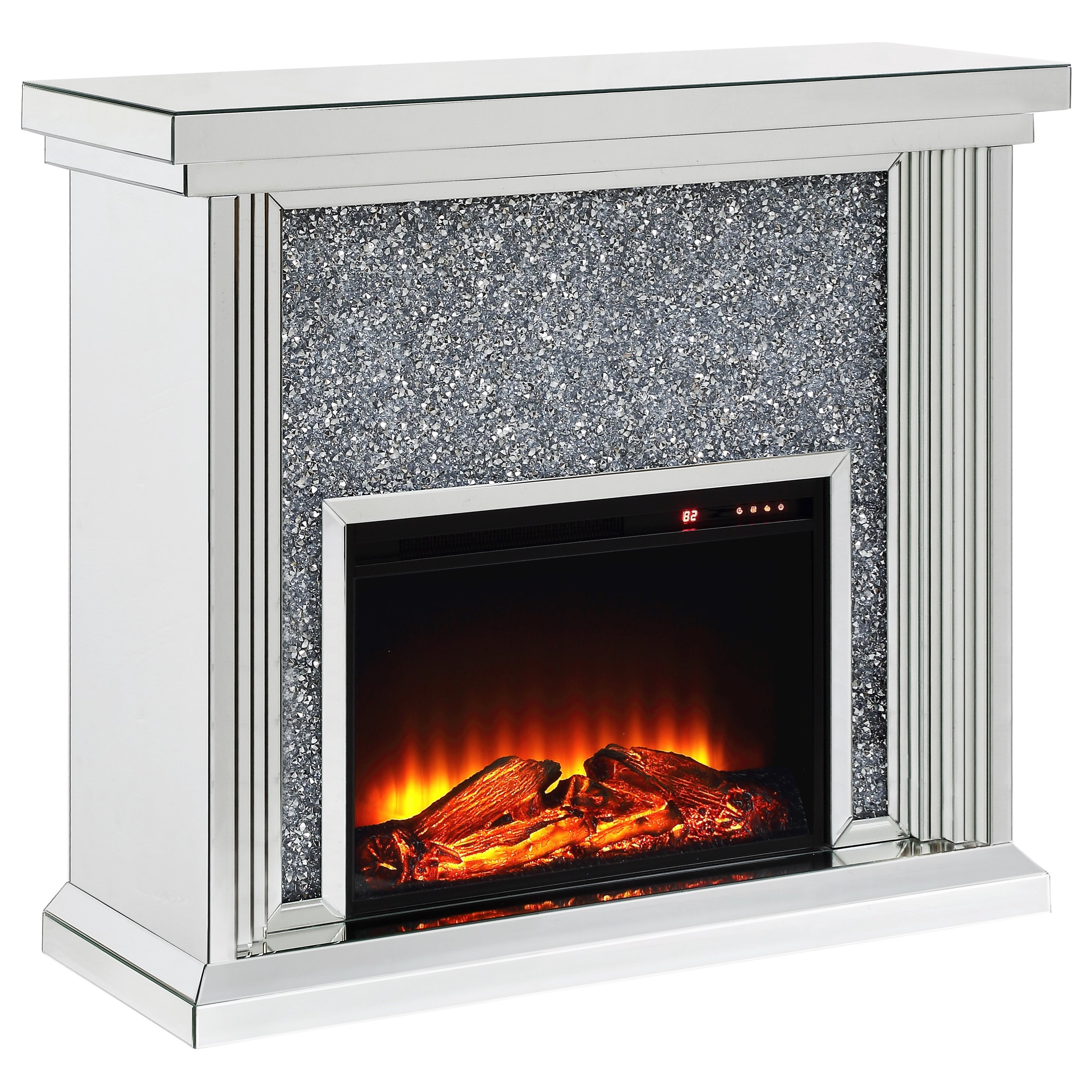 Noralie Fireplace by Acme Furniture at Nassau Furniture and Mattress