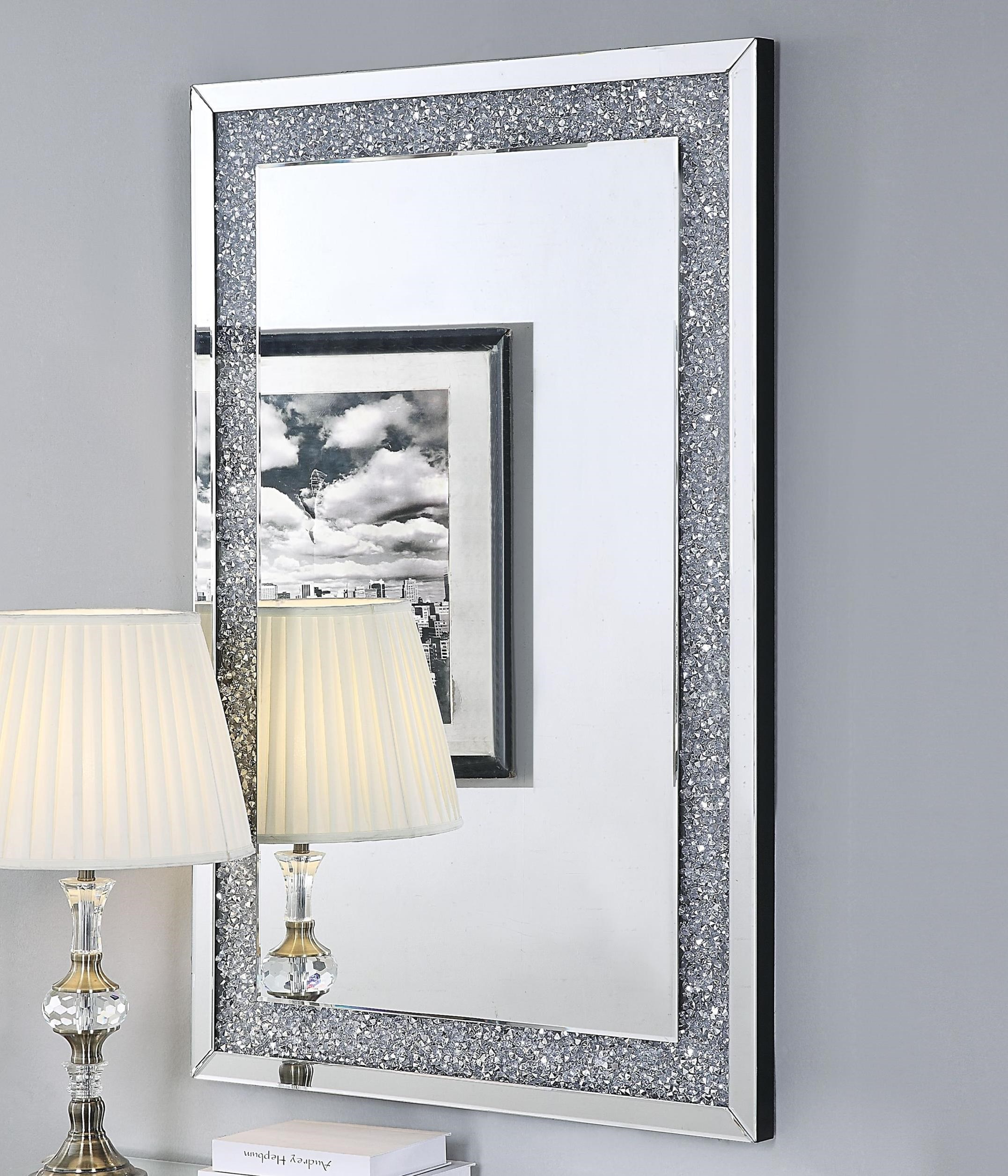 Noralie Wall Mirror by Acme Furniture at Carolina Direct