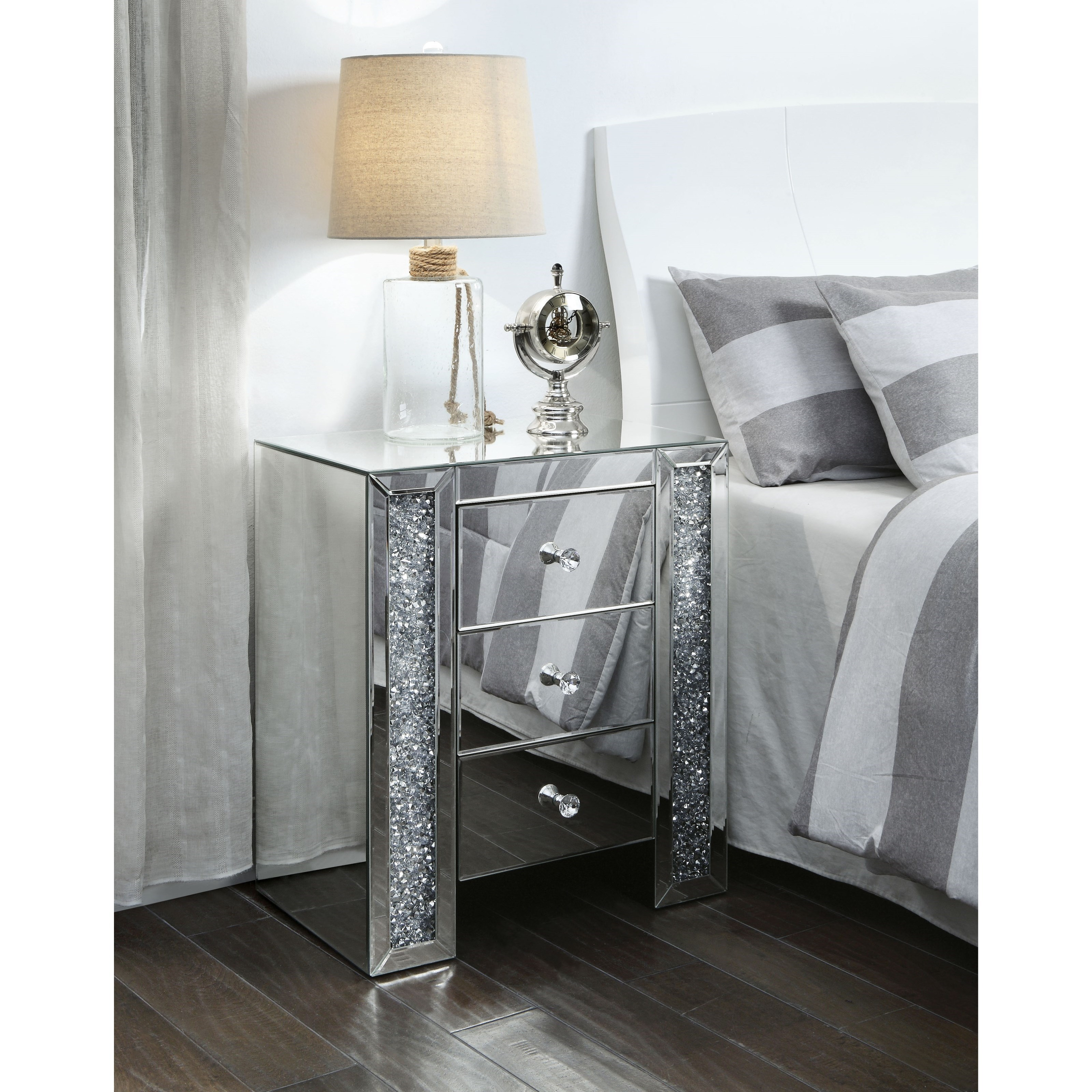 Noralie End Table by Acme Furniture at Nassau Furniture and Mattress