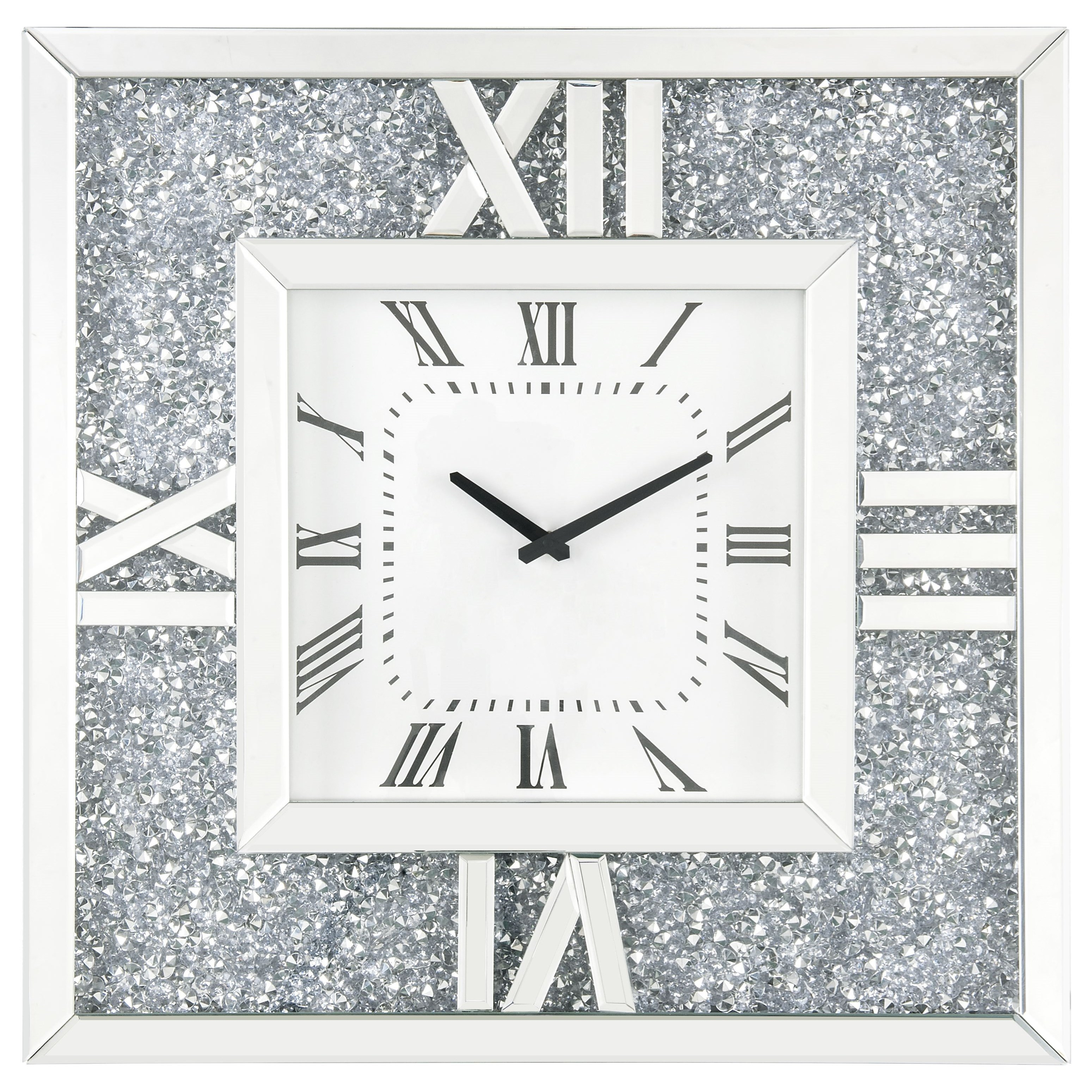 Noralie Wall Clock by Acme Furniture at Nassau Furniture and Mattress