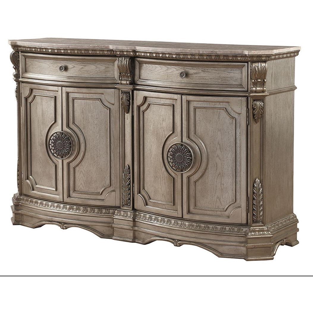 Northville Server (WOOD TOP) by Acme Furniture at A1 Furniture & Mattress