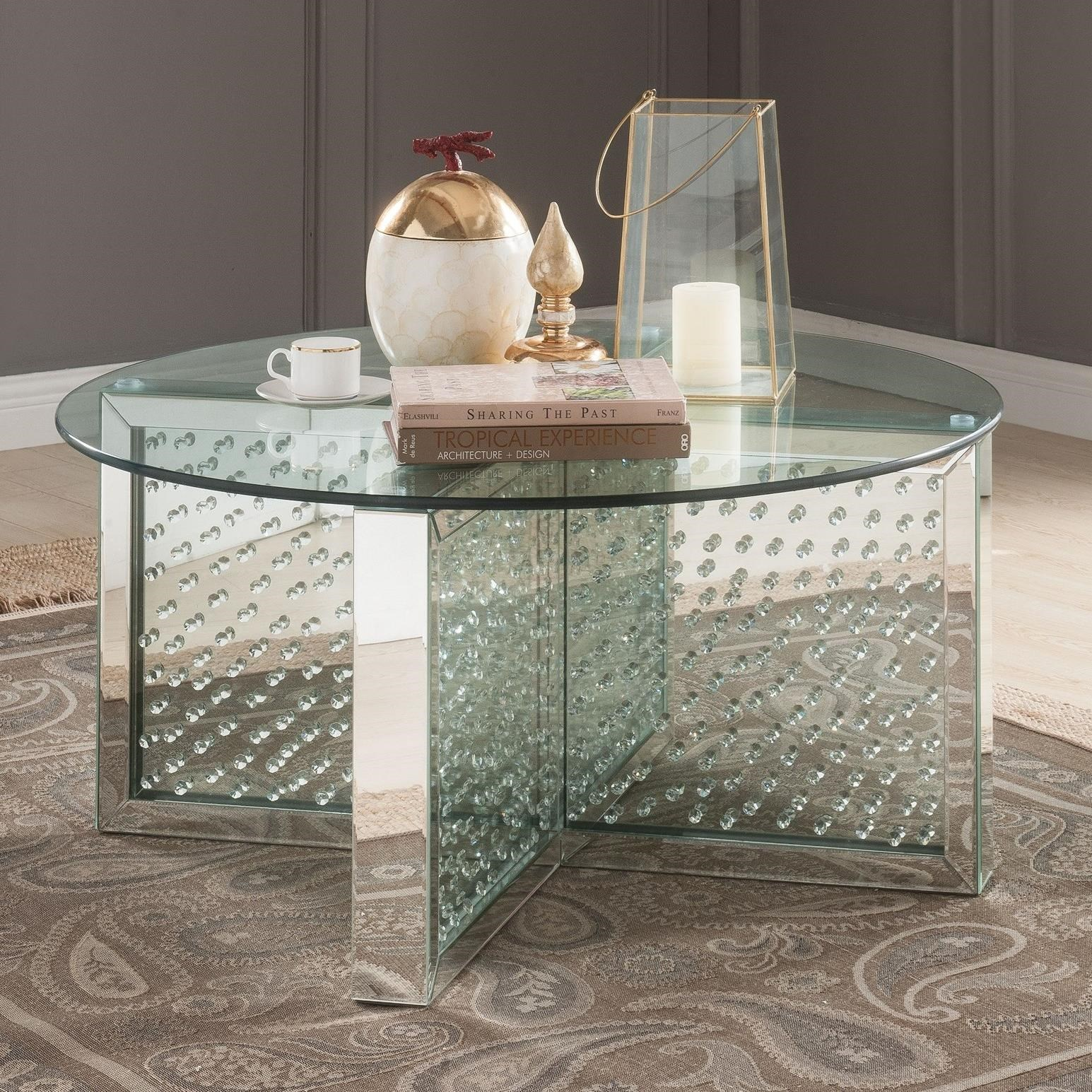 Nysa Coffee Table by Acme Furniture at A1 Furniture & Mattress