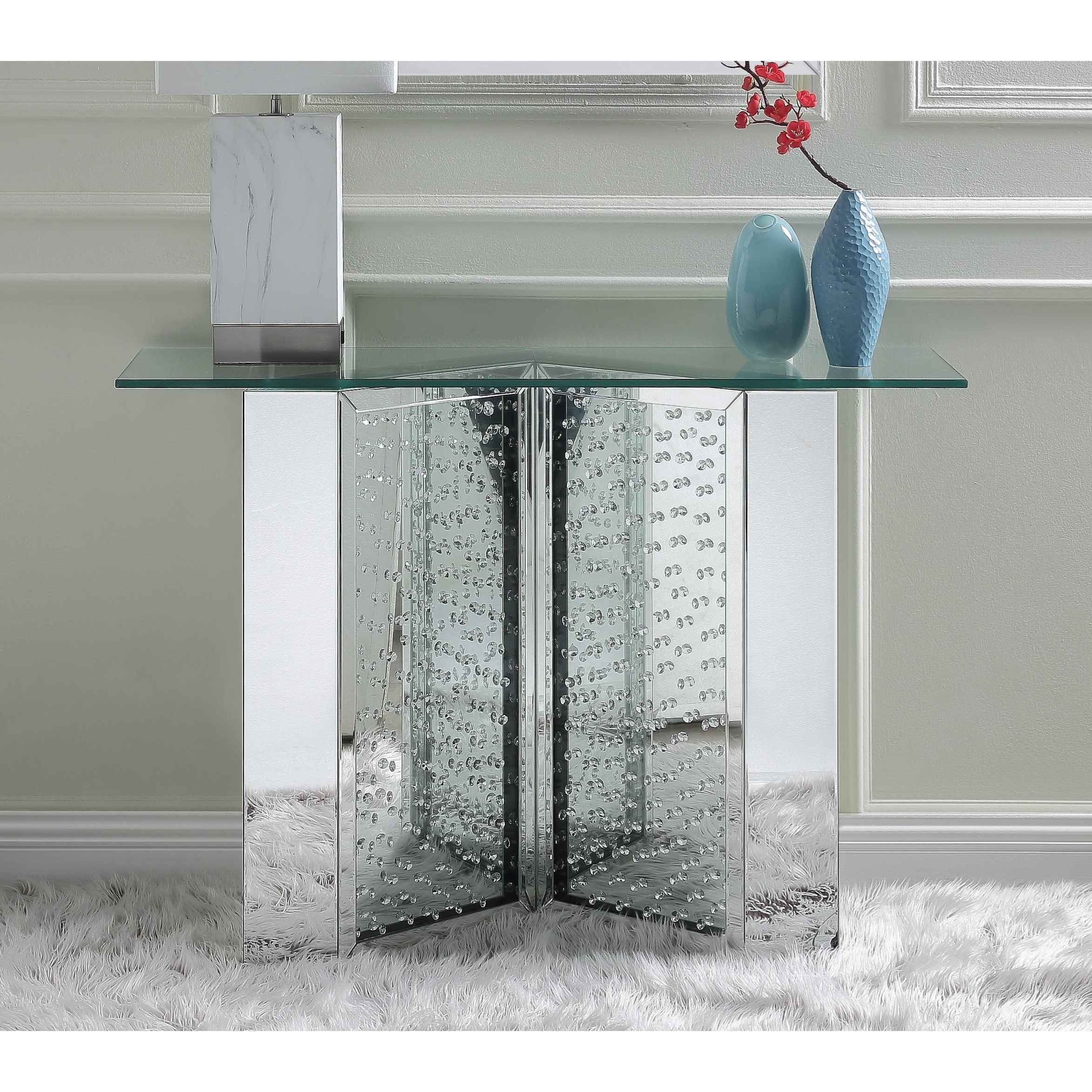 Nysa Console Table by Acme Furniture at Carolina Direct
