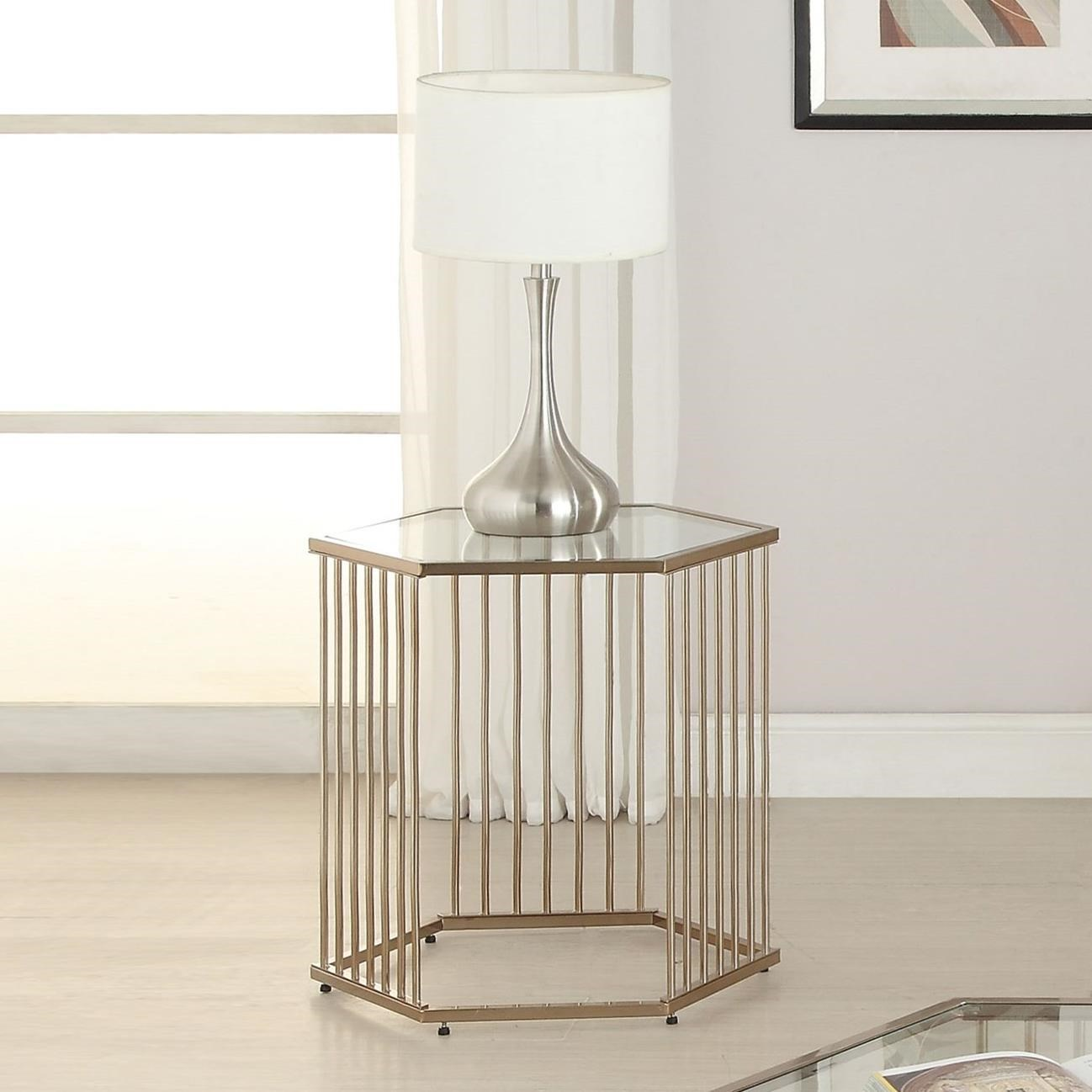 Oaklie End Table by Acme Furniture at Del Sol Furniture
