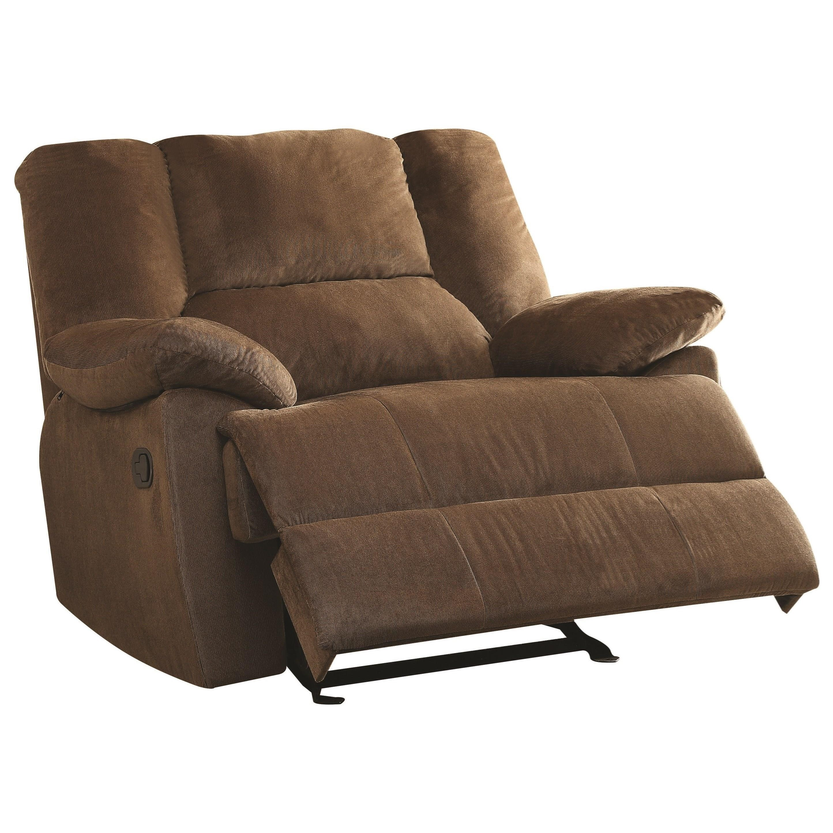 Oliver Oversized Glider Recliner (Motion) by Acme Furniture at A1 Furniture & Mattress