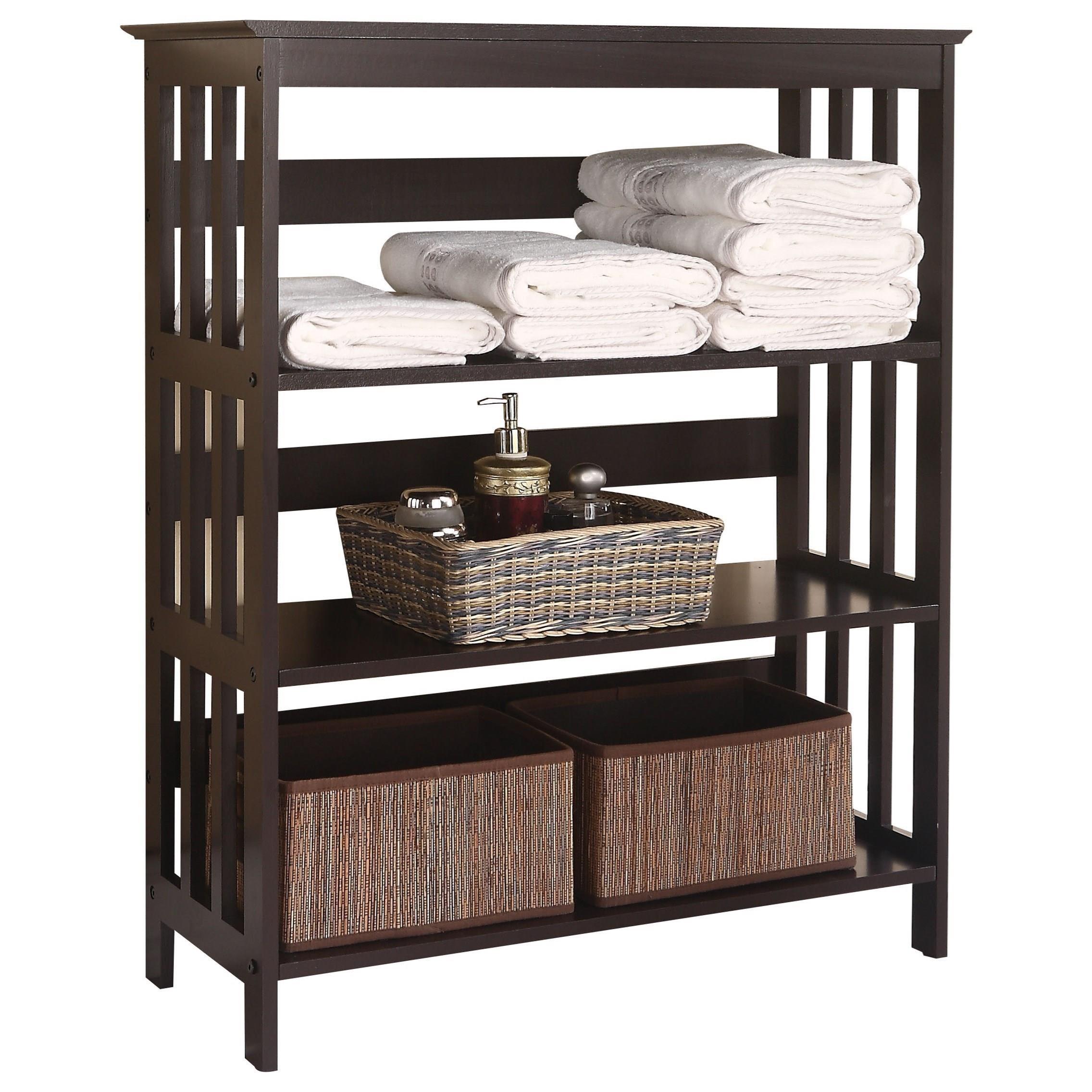 Opeli Shelf Rack by Acme Furniture at Carolina Direct