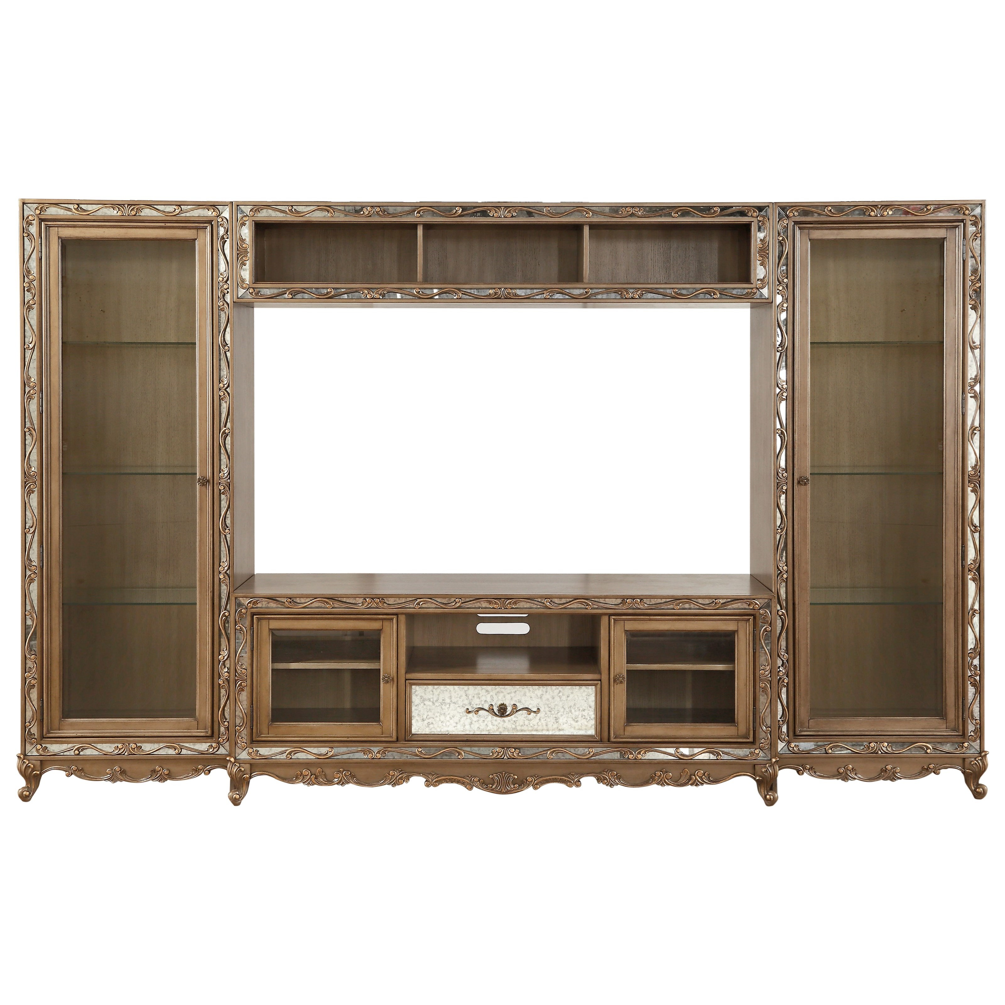 Orianne Entertainment Center by Acme Furniture at Carolina Direct