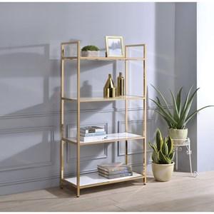 Contemporary Bookshelf with 4 Shelves