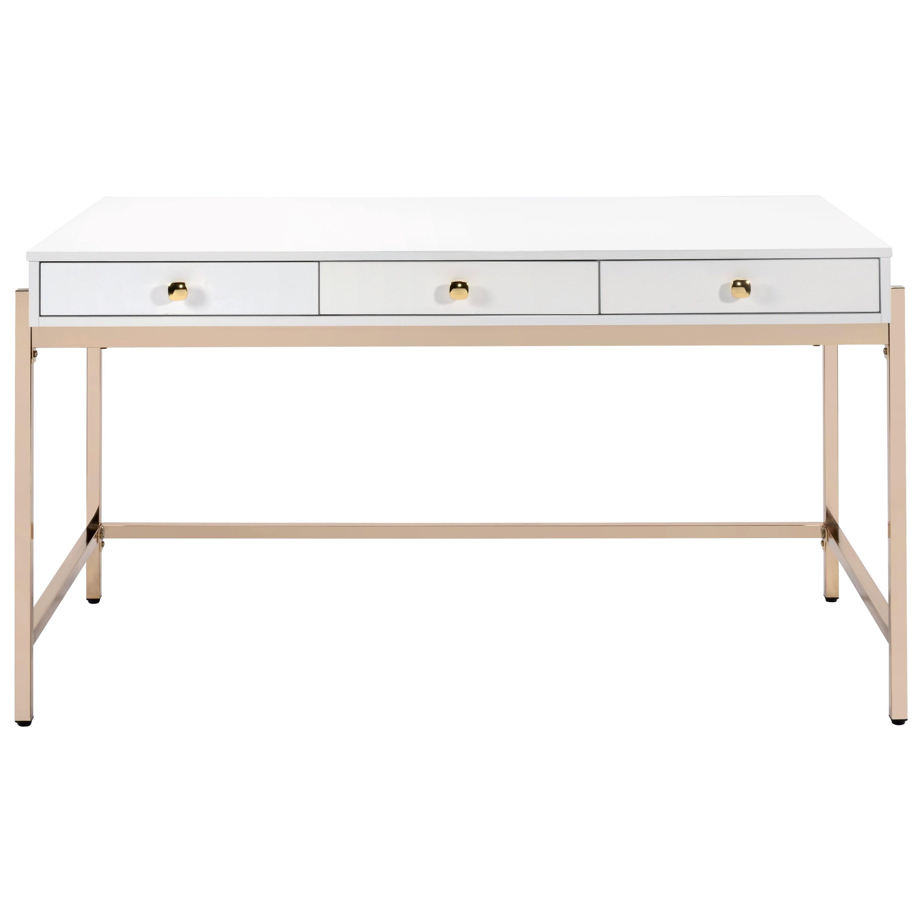 Ottey Desk by Acme Furniture at A1 Furniture & Mattress