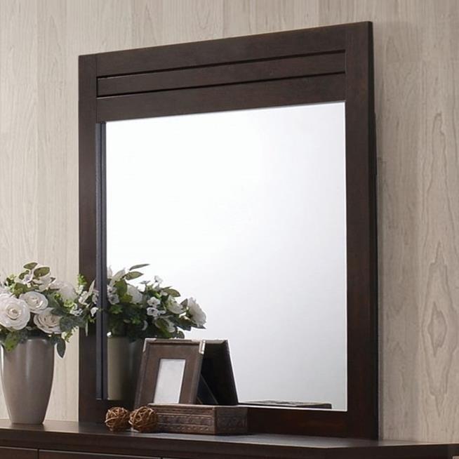 Panang Mirror by Acme Furniture at A1 Furniture & Mattress