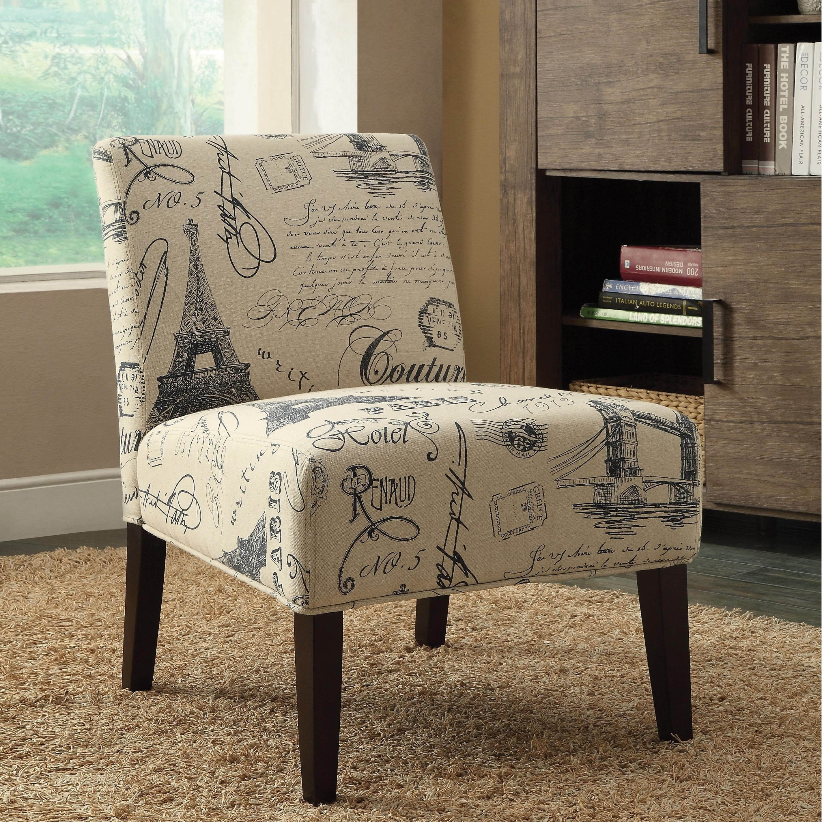 Reece Accent Chair by Acme Furniture at A1 Furniture & Mattress