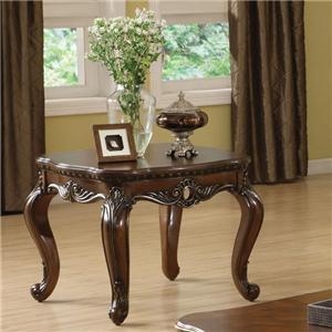 Acme Furniture Remington Brown Cherry End Table