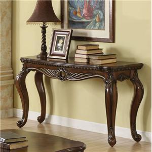Acme Furniture Remington Brown Cherry Sofa Table