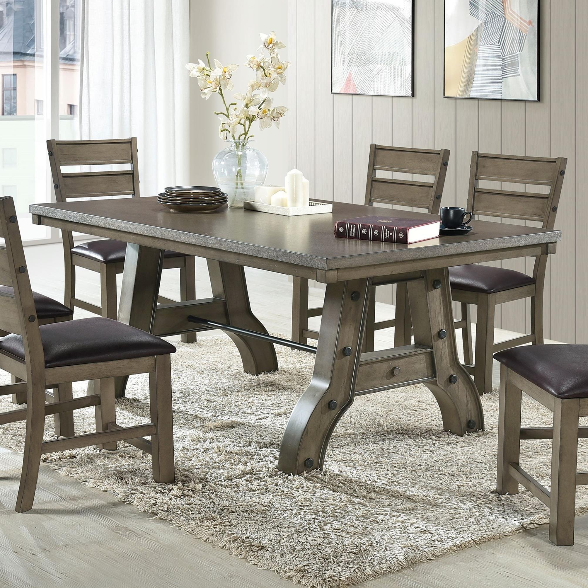 Rishima Dining Table by Acme Furniture at Carolina Direct
