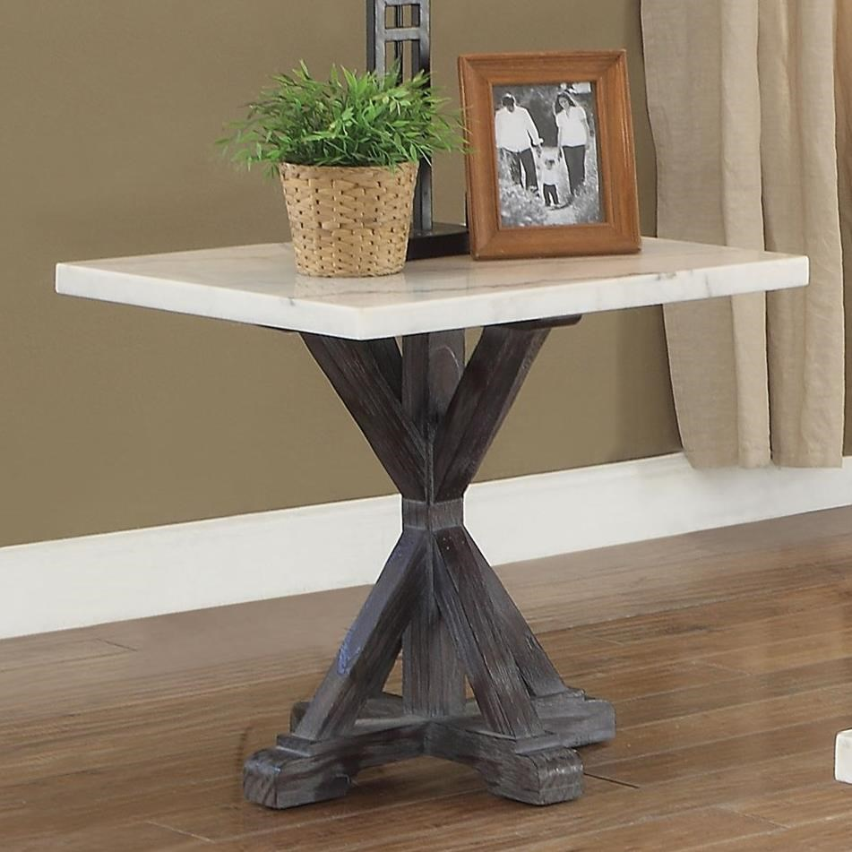 Romina End Table by Acme Furniture at Carolina Direct
