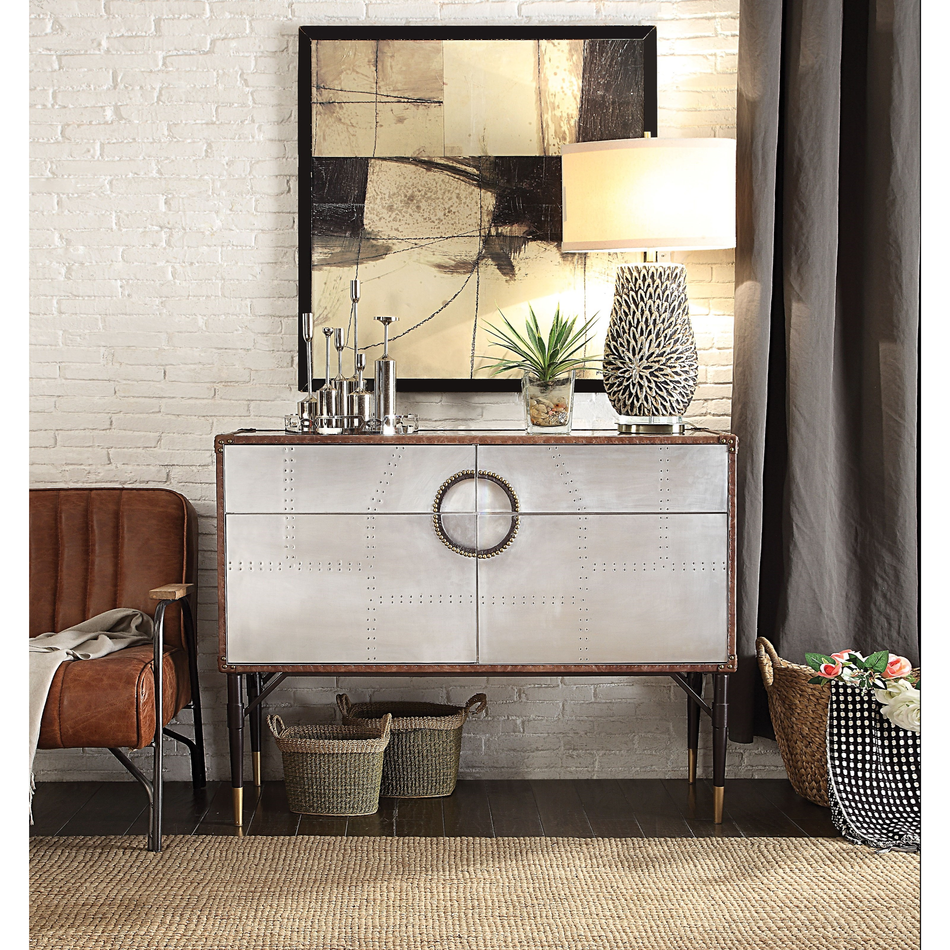 Brancaster Console Table by Acme Furniture at Carolina Direct