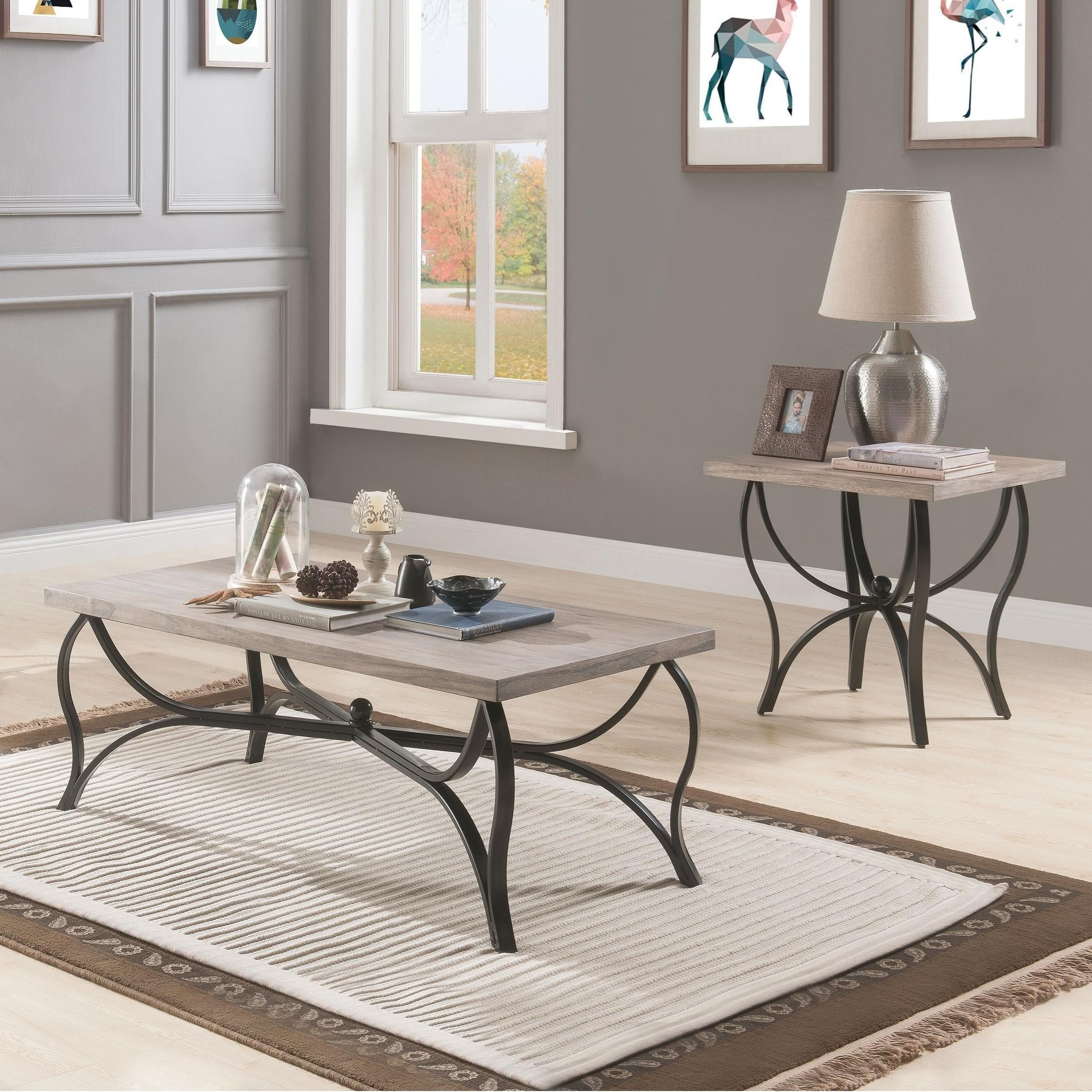 Scilla 3-Piece Occasional Table Set by Acme Furniture at A1 Furniture & Mattress