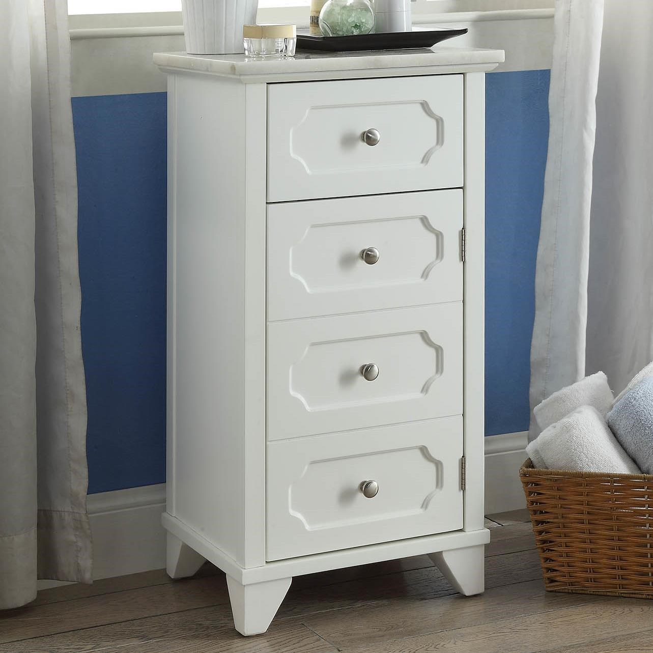 Shakeia Cabinet by Acme Furniture at Nassau Furniture and Mattress